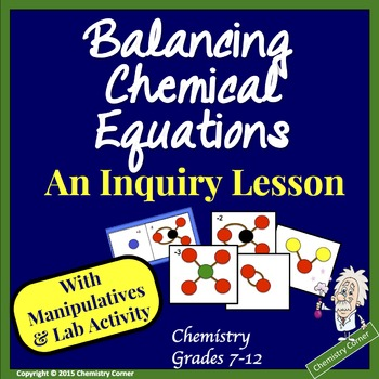 Balancing Chemical Equations: An Inquiry Lesson