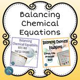 Balancing Chemical Equations Bundle