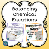 Balancing Chemical Equations Bundle
