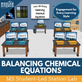 Balancing Chemical Equations Student-Led Station Lab