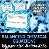Balancing Chemical Equations Student-Led Station Lab
