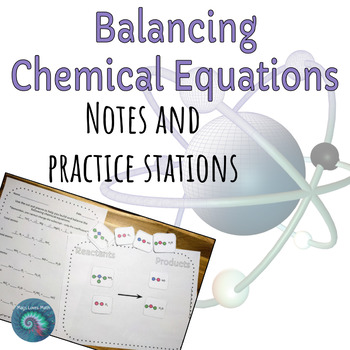 Balancing Chemical Equations: Notes and Stations