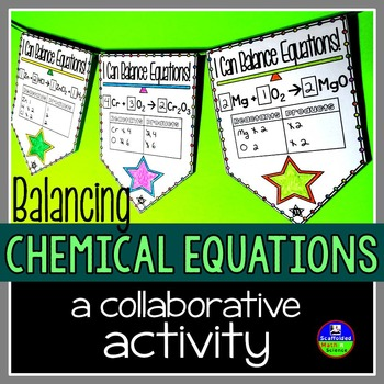 Balancing Chemical Equations Pennant