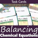 Balancing Chemical Equations Printable Task Card Activity