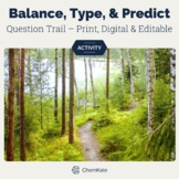 Balancing Chemical Equations, Reaction Types and Predicting Products Activity