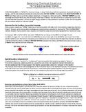 "Balancing Chemical Equations Using the ""Formula Drop-Down Method"""