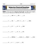 Balancing Chemical Equations Worksheet #2