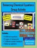 Balancing Chemical Reactions Equations Matching Activity C