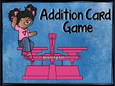 "Balancing Addition Equations ""Addition Card Game"""