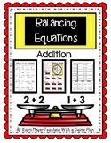 Balancing Equations Addition