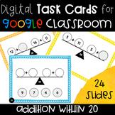 Balancing Equations Addition Within 20-- Digital Task Card