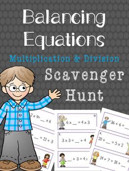 Balancing Equations Multiplication and Division