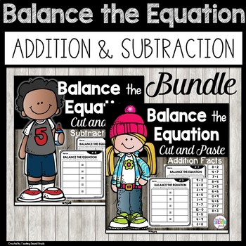 Balancing Equations Addition and Subtraction