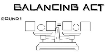 Balancing Equations Algebra Dice Game Differentiated Equivalent Number Sentences
