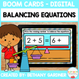 Balancing Equations - Boom Cards - Digital - Distance Learning