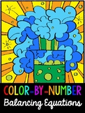 Balancing Equations *COLOR-BY-NUMBER* Activity