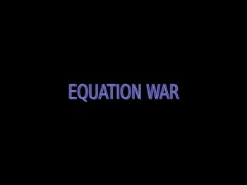 Balancing Equations :Chemical Equation War