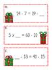 Balancing Equations Christmas Scavenger Hunt