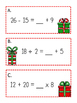 Balancing Equations Christmas Scavenger Hunt