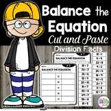 Balancing Equations 3rd Grade   Division Facts