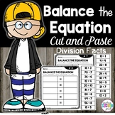 Balancing Equations 3rd Grade | Division Facts
