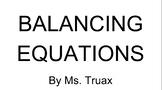 Balancing Equations Intro Animation