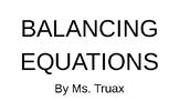 Balancing Equations Intro Animation-ppt FREE