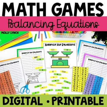 Balancing Equations Math Game