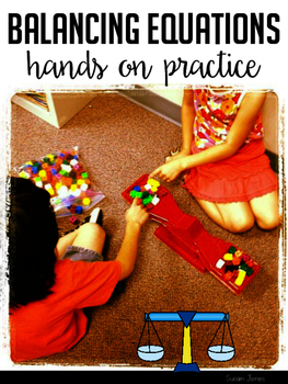 Balancing Equations: Missing Addend, Addition, & Subtraction Practice