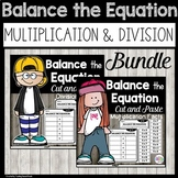 Balancing Equations Multiplication and Division