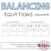 Balancing Equations Organisers