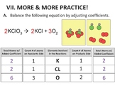 Balancing Equations Powerpoint and Guided Notes