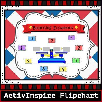 Balancing Equations Promethean Board Activinspire Flipchart