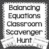 Balancing Equations Review Activity