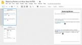 Balancing Equations Review and Molar Mass Digital Interactive Notebook
