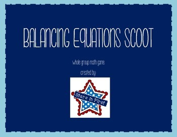 Balancing Equations Scoot