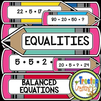 Balancing Equations Task Cards