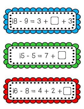 Balancing Equations Task Cards