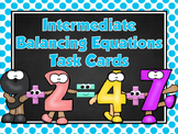 Editable Intermediate Balancing Equations Task Cards&Cooperative Learning Games