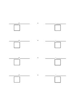 Balancing Equations Template