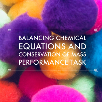 Balancing Equations and Conservation of Mass Middle School Bundle (NGSS Aligned)