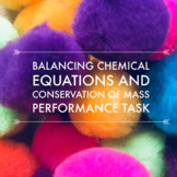 Balancing Equations and Conservation of Mass Performance T
