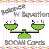 BOOM Cards Balancing Equations Missing Addends to 10 Solving for Unknown