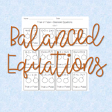 Balancing Equations (with addition and subtraction)