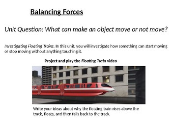 Balancing Forces 1.1