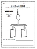Balancing Mobiles FOSS Kit Lesson Packet