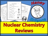 Nuclear Chemistry Practice Sheets