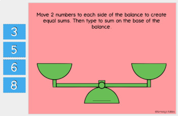 Balancing Numbers (sums 11-20) (Great for Google Classroom!)