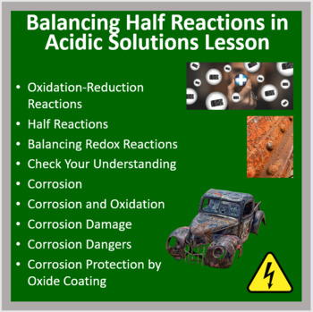 Balancing Reactions in Acidic Solutions - PowerPoint Lesson and Student Notes