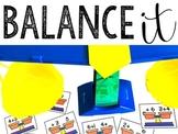 Balancing Scales: Missing Addends & Balancing Equations